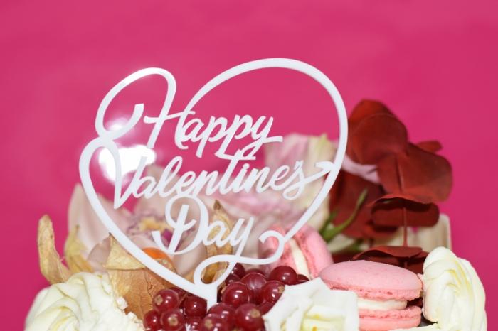 Topper tort Happy Valentine`s Day  TC23 2