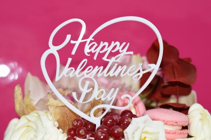 Topper tort Happy Valentine`s Day  TC23 0