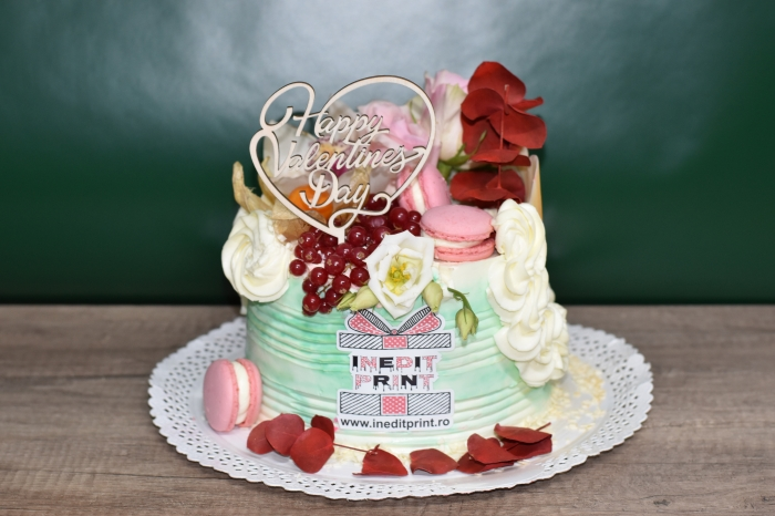 Topper tort Happy Valentine`s Day  TC23 3