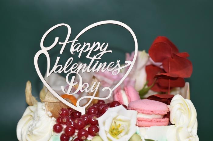 Topper tort Happy Valentine`s Day  TC23 1