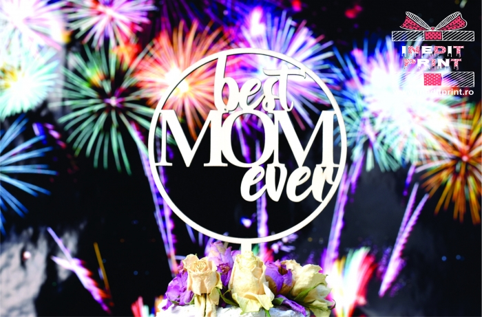 Topper Tort  Best mom ever TC144 [4]