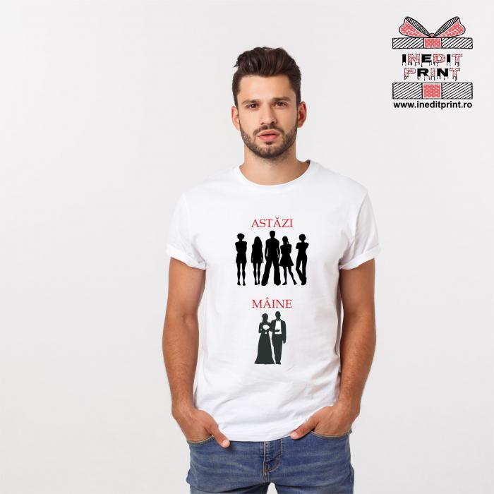 Tricou Astăzi | Mâine (Pentru bărbați) TP83 0