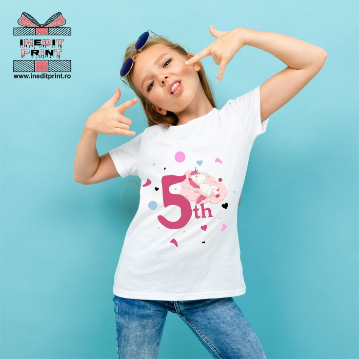 Tricou Copii Personalizat 5TH PONY! TPC7 0