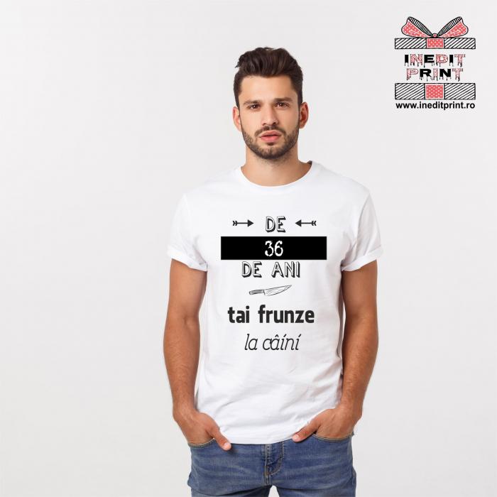 Tricou Personalizat Tai frunze la caini TP119 0