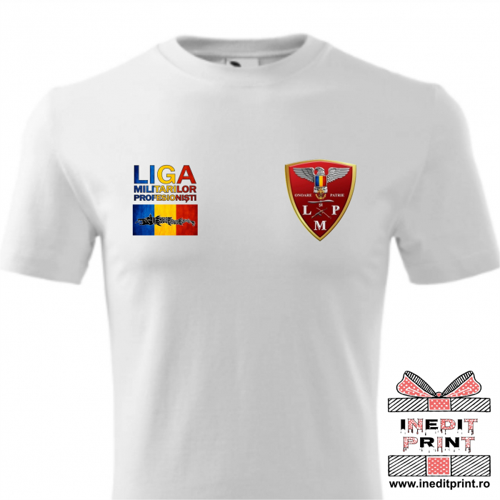 Tricou LMP - Asociația Liga Militarilor Profesioniști 2
