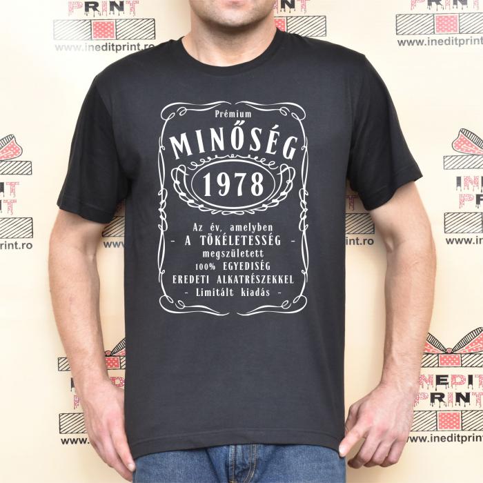 Tricou Personalizat Jack Daniels  - Maghiara TPM8 0