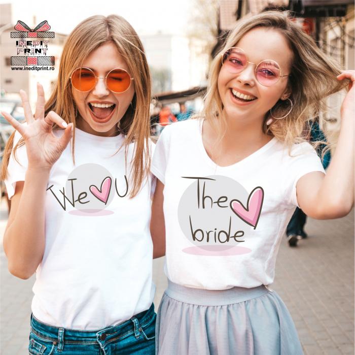 Set Tricouri The bride TP9 0