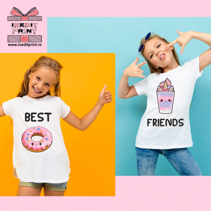 Set tricouri copii Best Friends TPC1 0