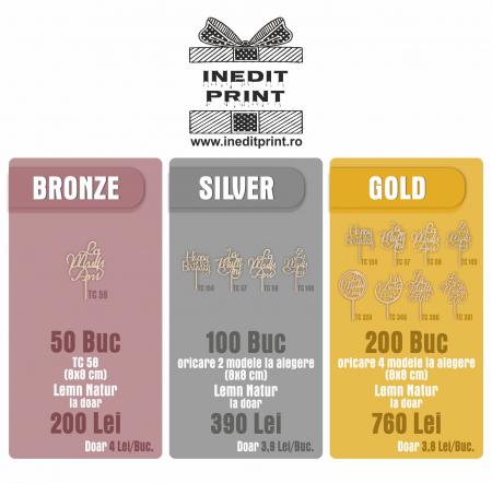 Bronze Pack - 50 Bucăți1