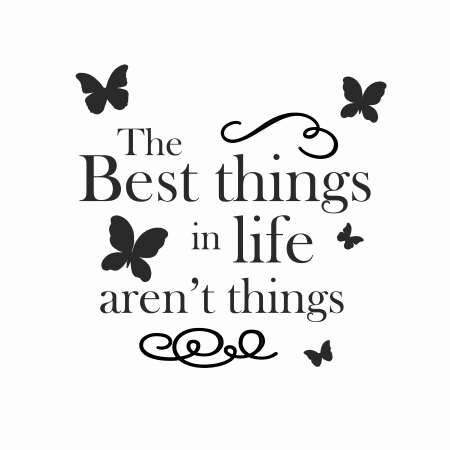 Sticker The best things SP161
