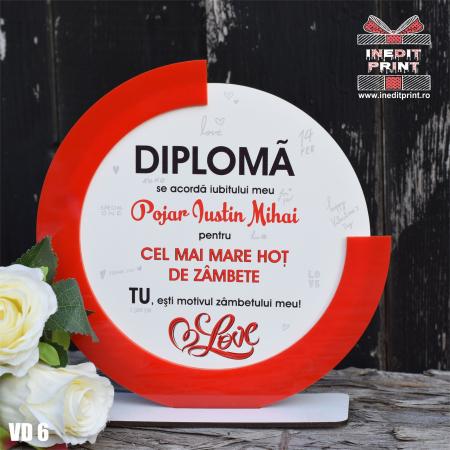 Diploma personalizata Hot de zambete VD61