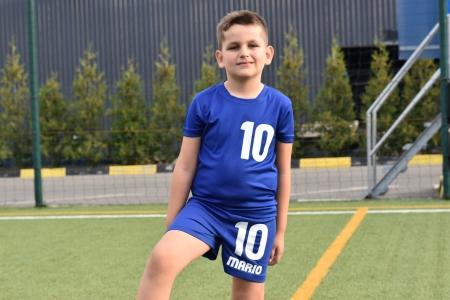 Echipament fotbal copii personalizat + Cana personalizata3