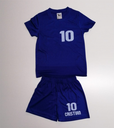 "Echipament  fotbal ""Malfini""  kids  personalizat, mărimea 134 cm0"