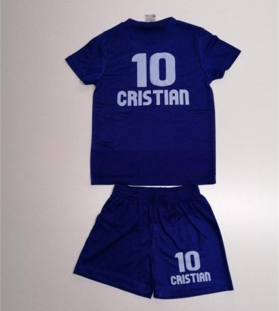 "Echipament  fotbal ""Malfini""  kids  personalizat, mărimea 134 cm1"