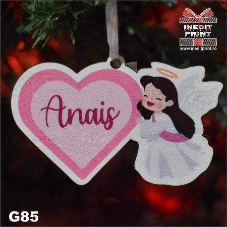 "Glob personalizat ""Angel"" G852"