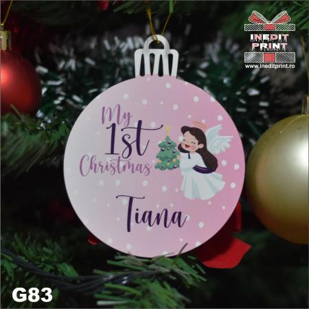 Glob ''My first Christmas'' G833
