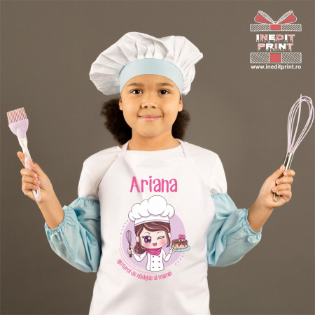 Șorț personalizat pentru copii + Cana1
