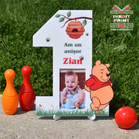 Ramă foto personalizată Winnie the pooh RFP40