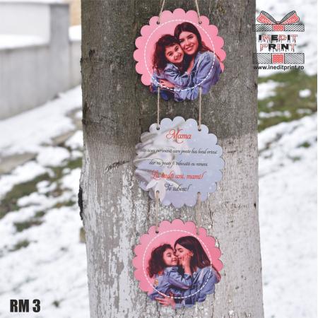 Ramă foto personalizată flower  RM32