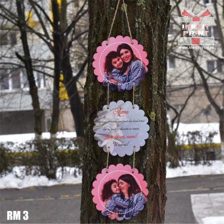 Ramă foto personalizată flower  RM34