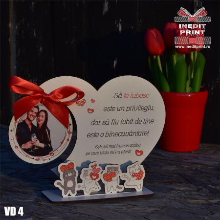 Rama foto personalizata Pisicutele iubarete VD44