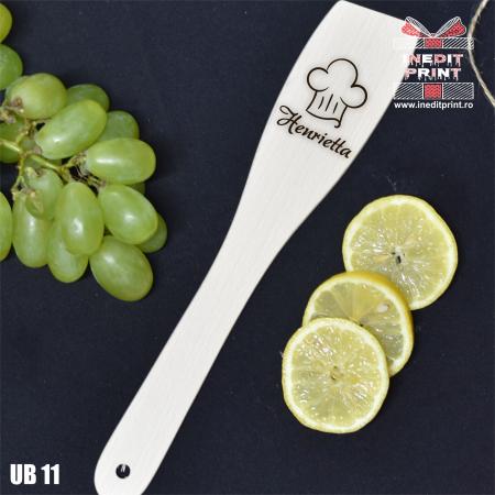 Spatulă dreaptă personalizată Chef UB110
