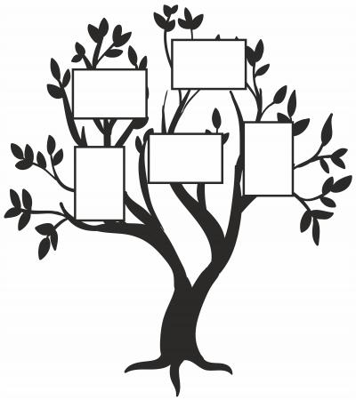 Sticker Copacul familiei SP211