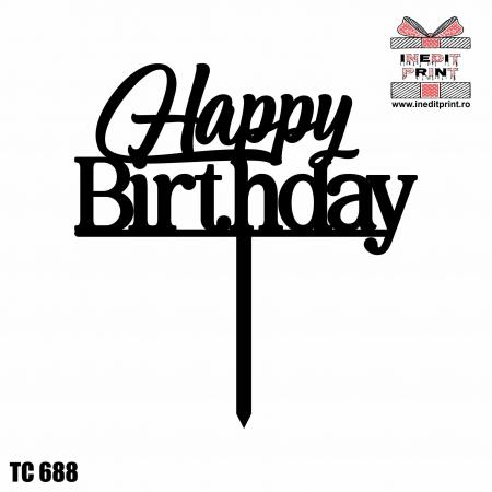 Topper tort Happy Birthday TC688 [0]