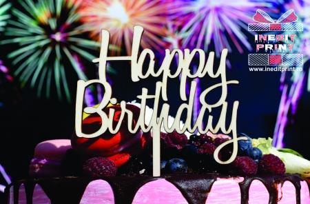 Topper Tort  Happy Birthday TC1540