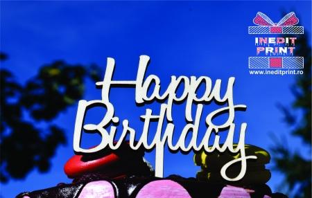 Topper Tort  Happy Birthday TC1543