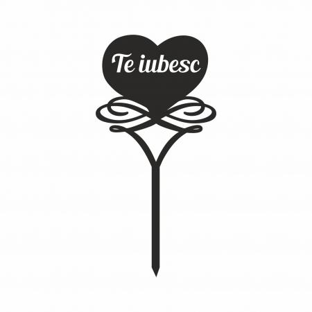 Topper tort Te iubesc  TC2490