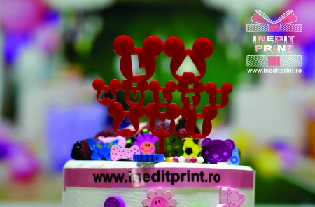 Topper Tort  La mulți ani TC1333