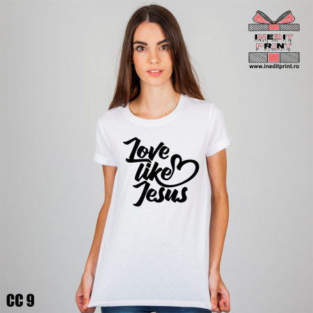 Tricou Love like Jesus CC91
