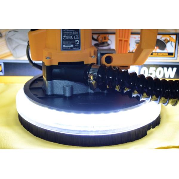 Aparat de slefuit extensibil cu lumina LED 1050W, 2300RPM, tip girafa, plafoane si rigips - INGCO DWS10501 2