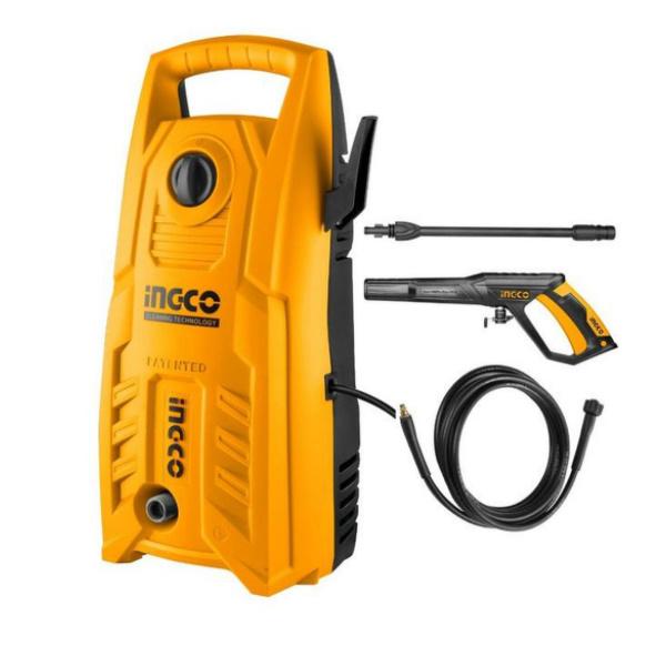 Aparat de spalat si curatat cu presiune, 130 bar - INGCO HPWR14008 0