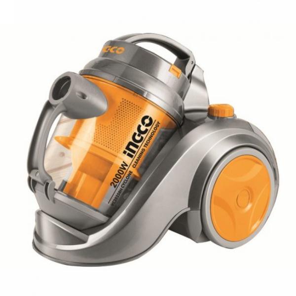 Aspirator fara sac, Turbo-Cyclonic, 2000 wati 2,5 l Filtru HEPA - INGCO VC20258 2