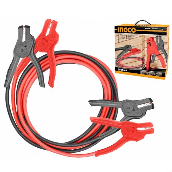 Cablu pornire 600 A cu LED 0