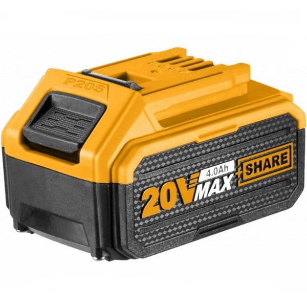 Acumulator, baterie 20V cu 4.0Ah Li-Ion - INGCO  FBLI2002E 0