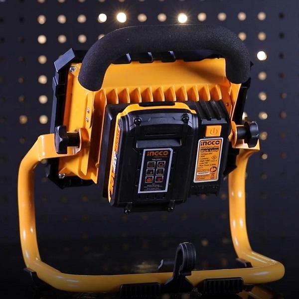 Proiector 20w cu acumulator extern 1500 Lumeni 1