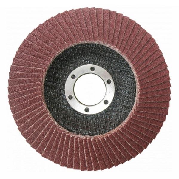 Disc abraziv lamelar pentru metal 125mm P40, P60, P80 0