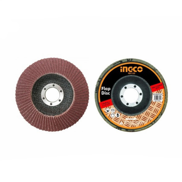 Disc abraziv lamelar pentru metal 125mm P40, P60, P80 2