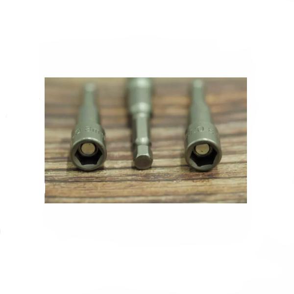 Cheie tubulara magnetica 1/4'', cap hexagonal 10mm x 65mm 1
