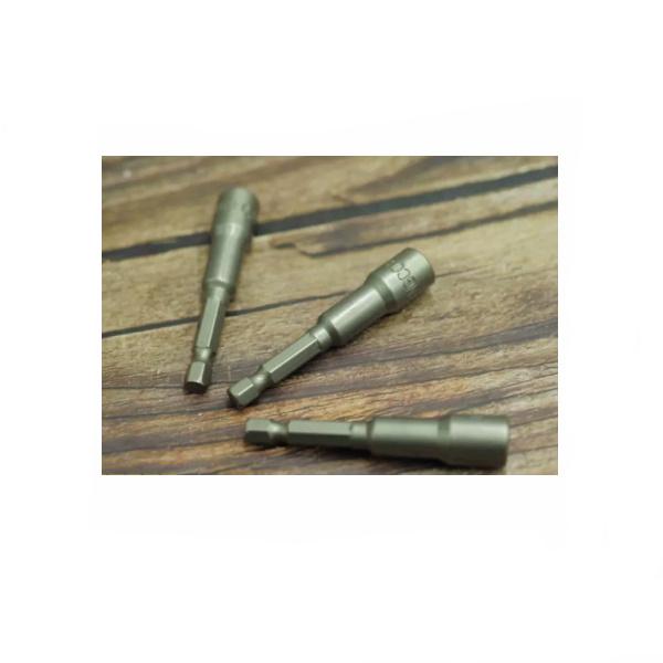 Cheie tubulara magnetica 1/4'', cap hexagonal 10mm x 65mm 2