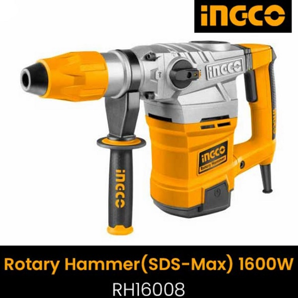 Ciocan rotopercutor 1600W, 8J, SDS MAX, kitbox 0