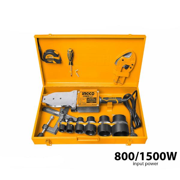 Trusa sudura PPR, 1500W, cutie metalica + accesorii 1