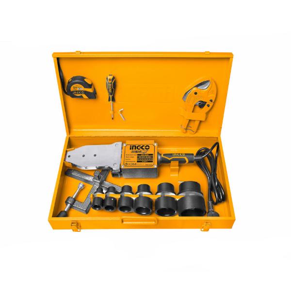 Trusa sudura PPR, 1500W, cutie metalica + accesorii 2