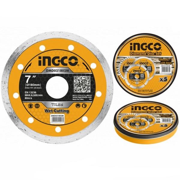 Disc diamantat continu, 125mm, 180mm, 230mm - INGCO 0