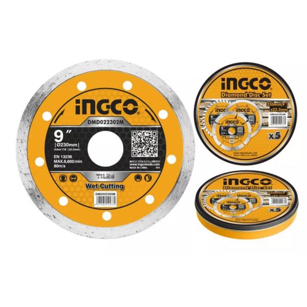 Disc diamantat continu, 125mm, 180mm, 230mm - INGCO 2
