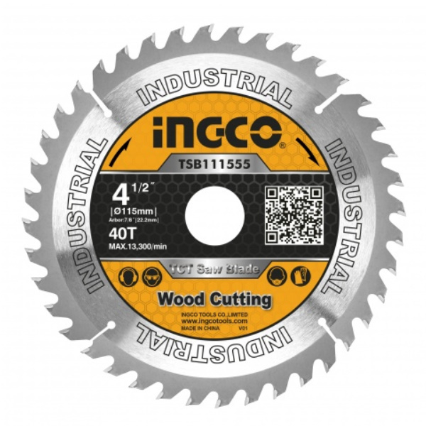 Disc, panza cu vidia, 115mm x 22.2mm, 40 dinti 0