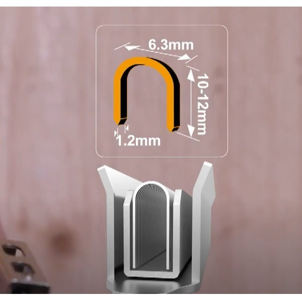 Capsator tapiterie, 3 in 1, reglabil, + 600 capse 2